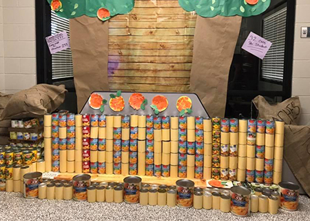 STM Exceeds CANstruction Goal