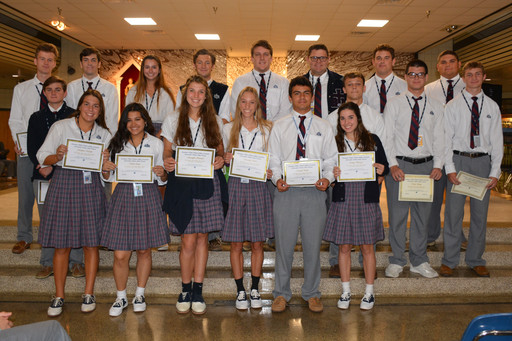 Seniors Receive LHSAA All-Academic Recognition