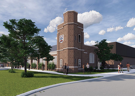 Chapel Renderings Unveiled at Mass